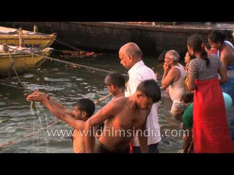 A sea of humanity descended on Varanasi Ghats for Maha Shivratri