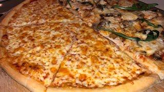 ПИЦЦА рецепт ОТ и ДО какая же вкусная пицца получилась 100 идеальный рецепт