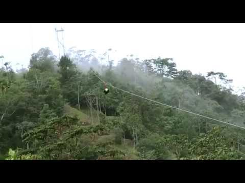 Superman Cable in Lands in love - Costa Rica