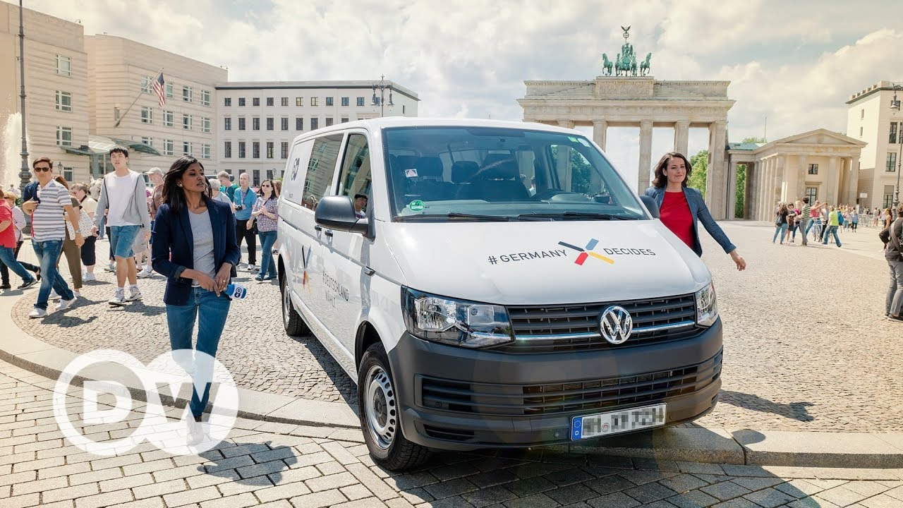 #Germany Decides - German election road trip   DW Documentary