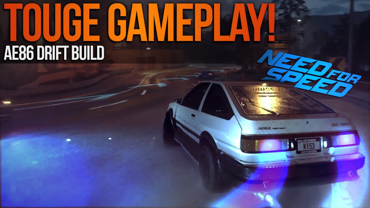 2015 Toyota Supra >> Need for Speed 2015 Touge Drifting Gameplay, AE86 ...