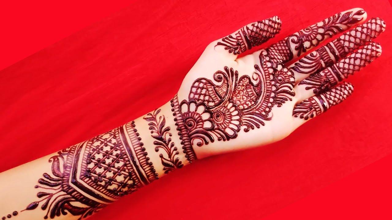 Cute Teenager Girls Henna Mehndi Design Special Mehndi Art