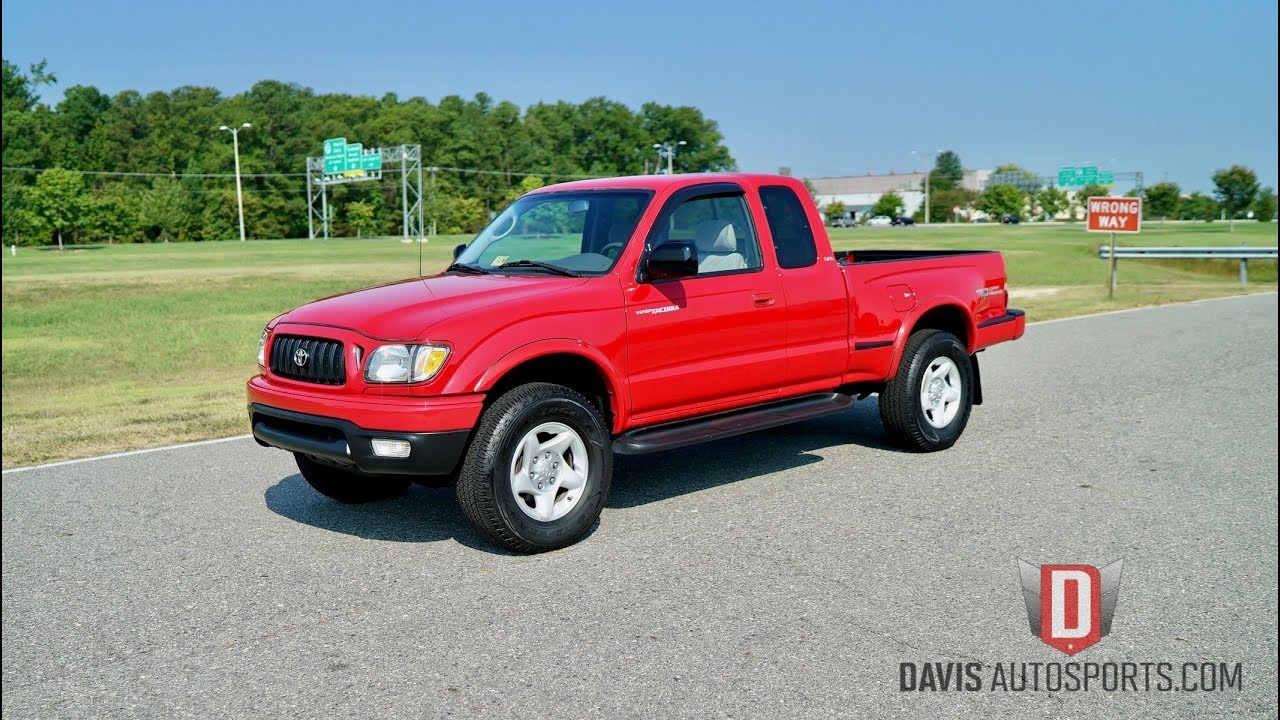 Davis autosports 2001 toyota tacoma stepside trd 4x4 5 speed vid 1 for sale