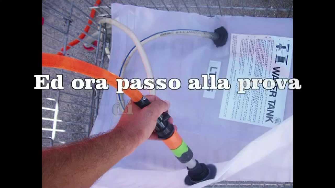 Impianto doccetta barca youtube for Doccetta barca