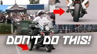 5 MOTORCYCLE PET PEEVES (DON