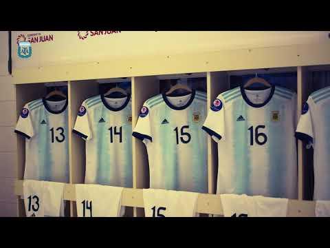#SudamericanoSub20Femenino: Vestuario preparado para jugar ante Colombia