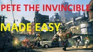 borderlands 2 how to beat pyro pete the invincible easy glitch uvhm
