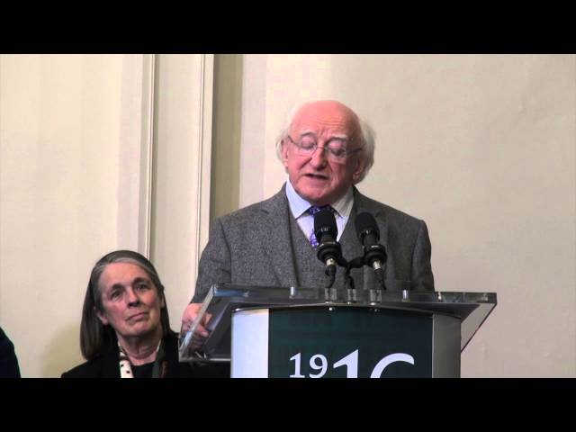 President Higgins at the Opening of the New Visitor Centre at Kilmainham's Gaol & Courthouse