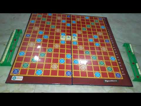 How to play Spellex crossword game in hindi