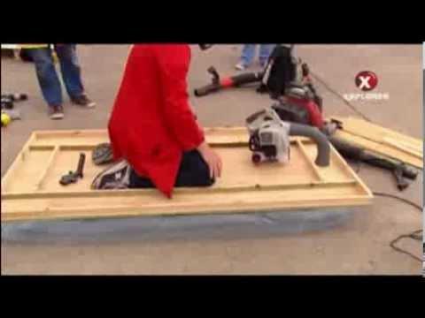 видео: Самодельная воздушная подушка