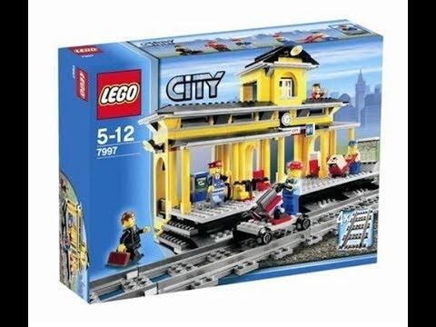 Lego City Train Station 7997 Instructions Book Diy Youtube