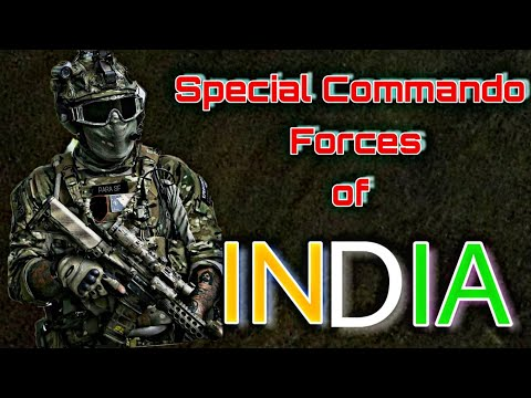 The Indian Army Special Commando Forces!!!