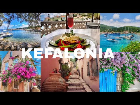 Kefalonia Greece - Bus Trip To Agia Effimia and Wandering Around Beautiful Fiskardo