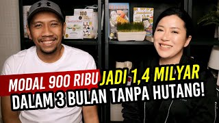 Download MODAL 900 ribu JADI 1,4 MILYAR  DALAM 3 BULAN TANPA HUTANG | Arli Kurnia | Christina Lie 101Red Mp3 and Videos