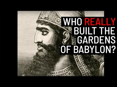 Who Built Hanging Gardens of Babylon?