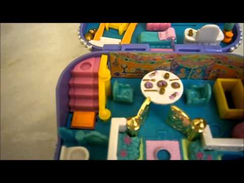 Vintage Polly pocket collection: Jewel case 1997