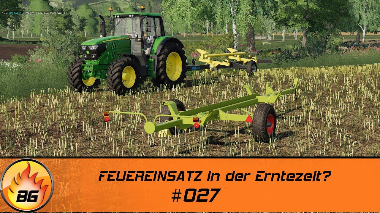 LS19 - Stappenbach #027 | FEUEREINSATZ in der Erntezeit? | FS19 | Let's Play [HD]