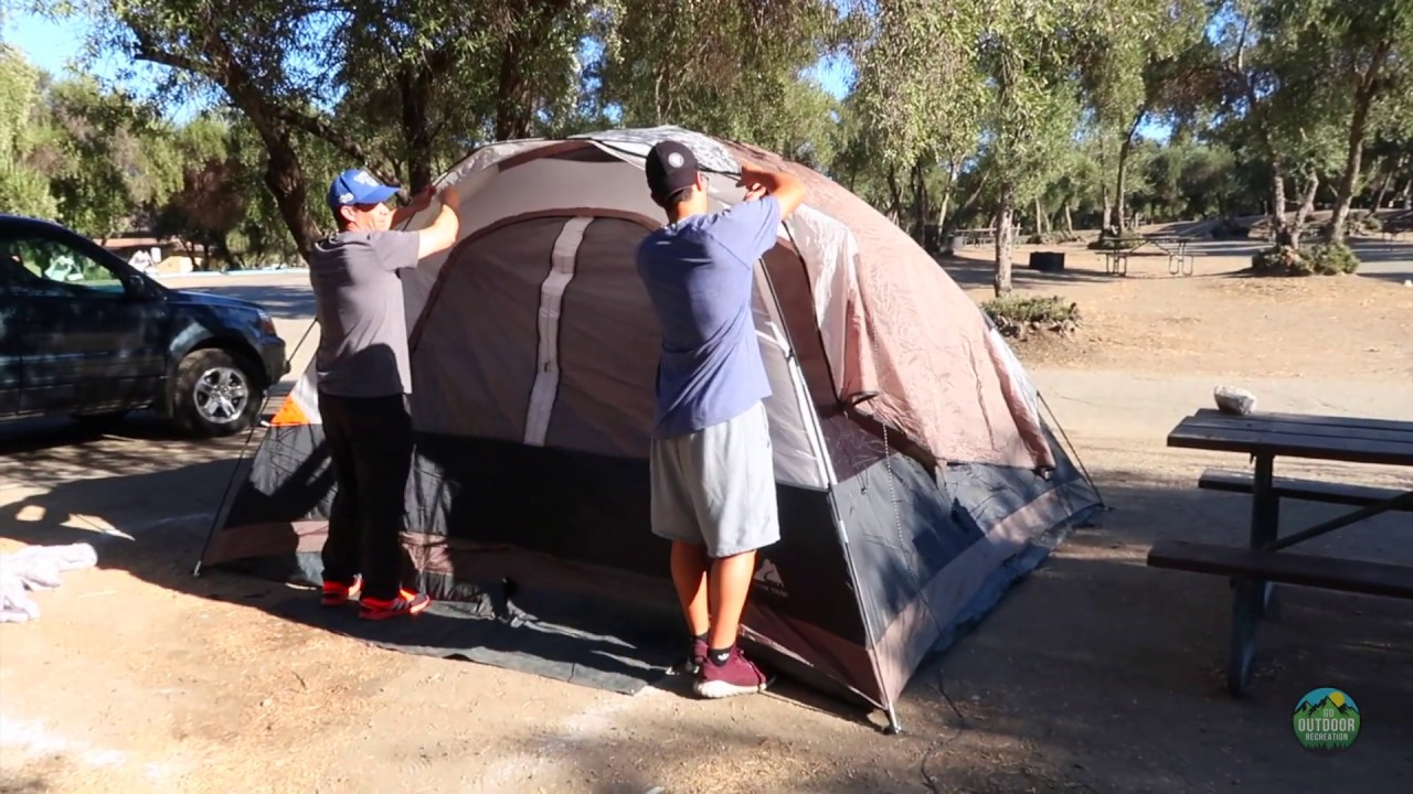 Overnight Camping  |  Setting Up a Campsite  |  Musica Gospel ⛺️