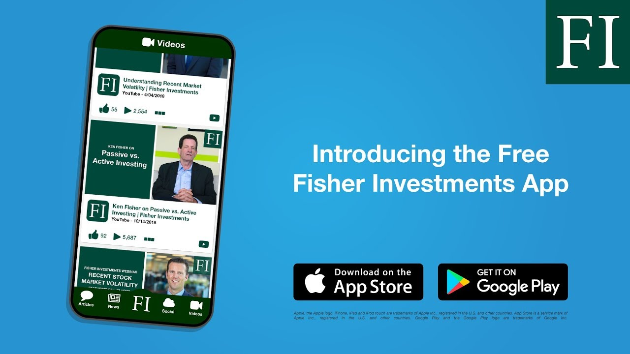 Mobile App   Fisher Investments