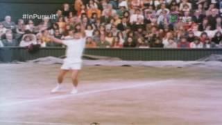 Stan Smith over Ilie Nastase