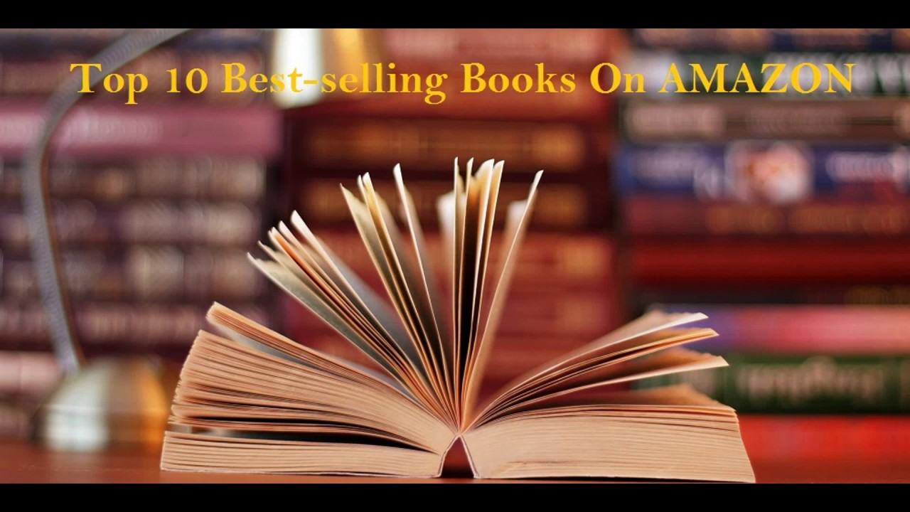Top 10 best selling books on amazon