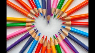 Coloured Pencils Equipment for beginners