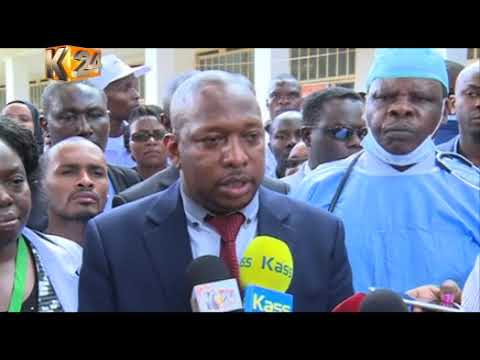 Governor Sonko presides over free Kidney transplant at Mbagathi  hospital