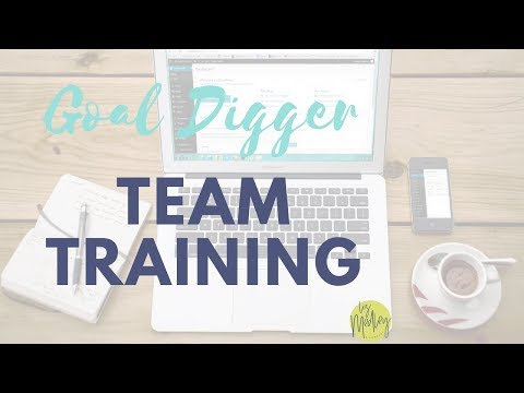 Goal Diggers Team Training - Color Matching and Sales with Shellie