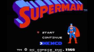 Superman (NES) Music - Monster House Battle