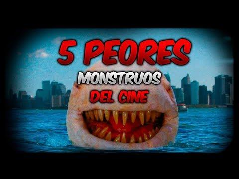 Peores monstruos del cine