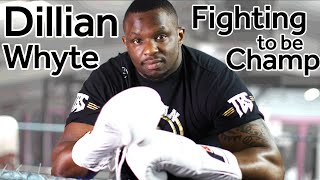 Boxer Dillian Whyte: Unfairly held back from a title shot?