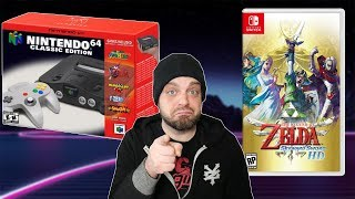 Is Nintendo LYING About N64 Classic and Skyward Sword HD? | RGT 85