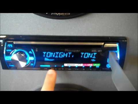 (Santa Clarita Auto Sound) Pioneer DEH-X6500BT Car Stereo MIXTRAX Demo