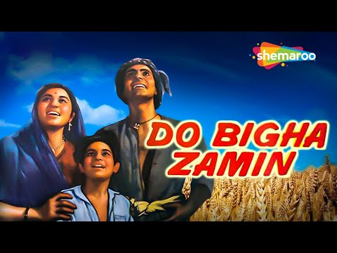 Nirupa Roy Hit Movie 'Do Bigha Zamin'  - Balraj Sahni | Jagdeep | Old Classic Movie