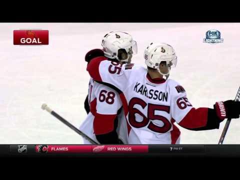 Senators @ Lightning Highlights 12/20/15