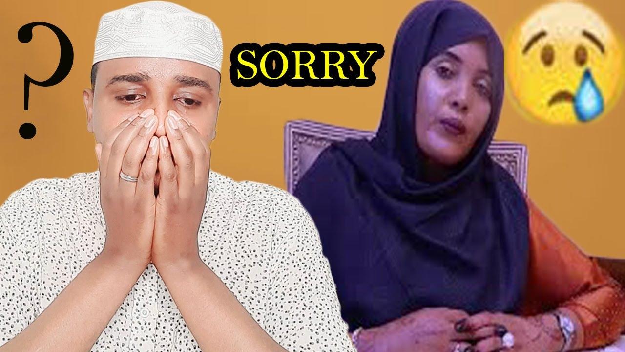 Download Hooyadan safiyo tusmo arinta ku Dhacday sawirada Qaawan Dadka faafiyay ceeb iyo fadeexad oga Dhigay