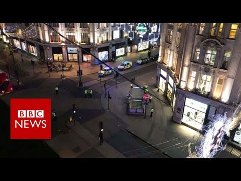 Thumbnail: Oxford Circus Incident: Shops evacuated around Oxford Circus Tube station - BBC News
