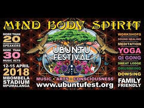UBUNTU FEST - South Africa 12-15 April 2018  PR 2