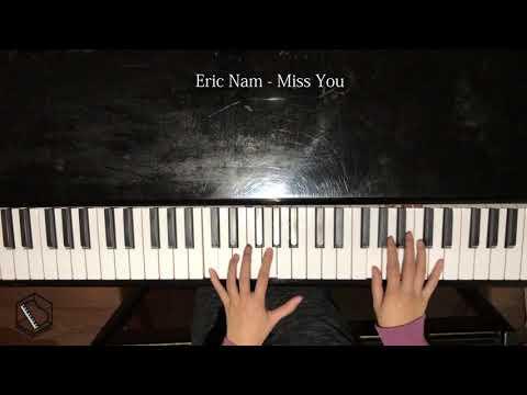 Eric Nam - Miss You Piano cover (Korean)