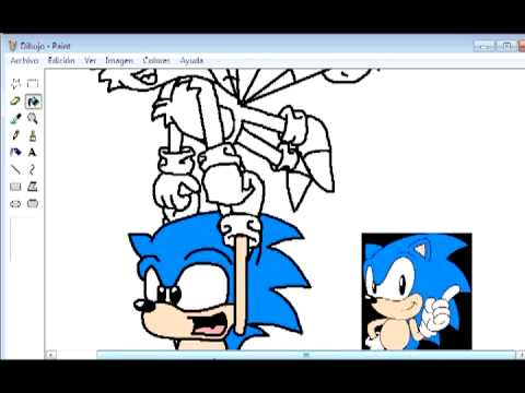 Dibujando a Classic sonic y Classic Tails  YouTube