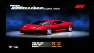 NFS Hot Pursuit 2 (PS2) - Cars Showcase