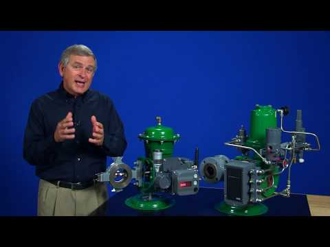 Basic Actuator Operation For Rotary Valves