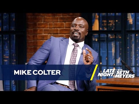 Mike Colter Got Lots of Love from NYC Luke Cage