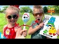 Download Video TOY STORY 4 Movie Art Challenge!!! DIY FORKY and 3 Marker WOODY! KIDCITY MP4,  Mp3,  Flv, 3GP & WebM gratis