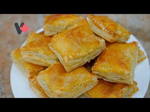 Apple Pies Puff Pastry – Cách Làm Bánh Táo Ngàn Lớp