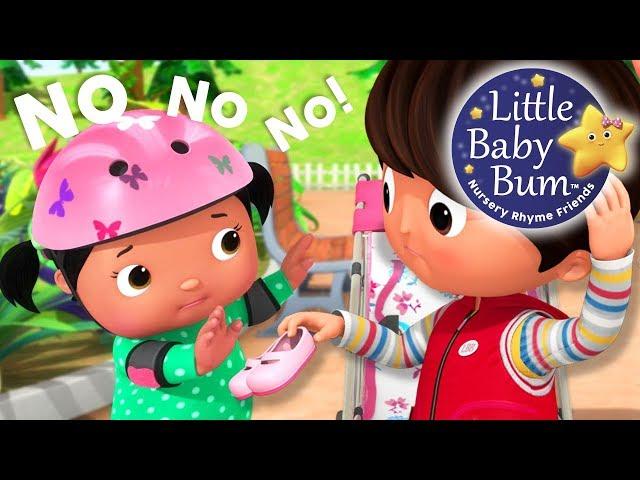 No No No! Play Safe In Playground | Nursery Rhymes | Original Songs By LittleBabyBum!