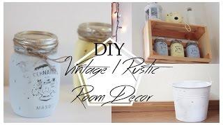 Vintage/Rustic Inspired DIY Room Decor // Lara Elizabeth | Lara Elizabeth