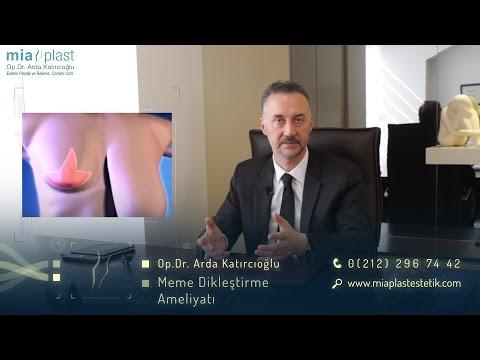 Meme Dikleştirme Ameliyatları - Op. Dr. Arda Katırcıoğlu