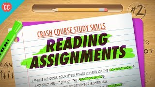 Reading Assignments: Crash Course Study Skills #2 thumbnail