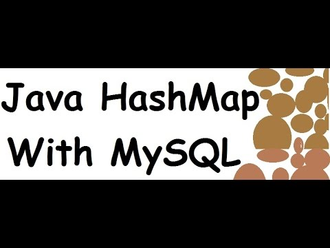 JAVA & MySQL - How To Populate a HashMap From MySQL DataBase In Java [ with  source code ]